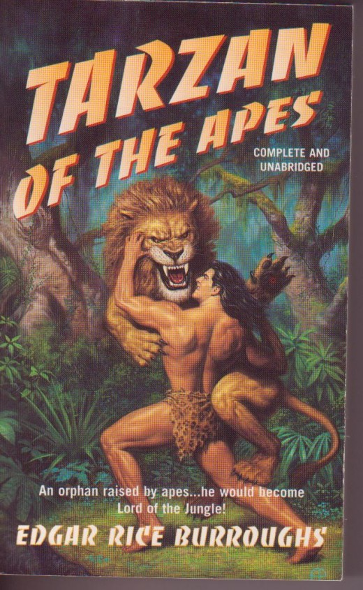 The original Book Tarzan of the Apes