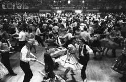 Square  Dancing  at Oakland  Folk Dance  Festival  May 1 1962.