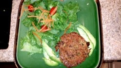Zucchini and Kidney Bean Patties