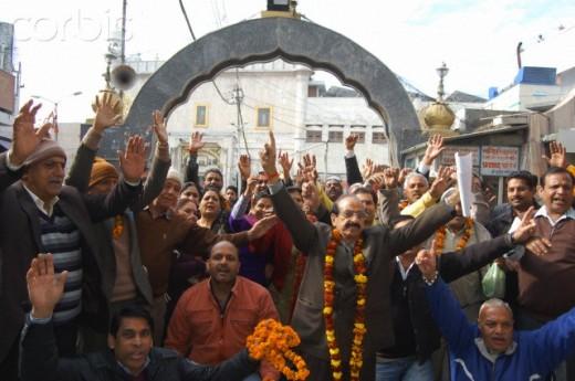 Hindus celebrating in Pakistan