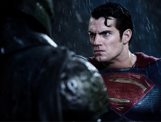 Superman is Unamused by the Batman