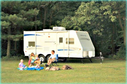 Small RVs cost much less to own than big ones.