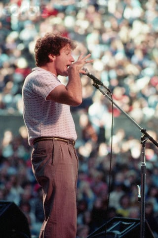 Robin Williams circa 1981.