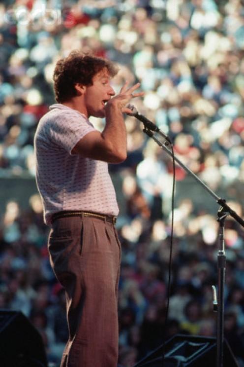 Robin Williams circa 1981.