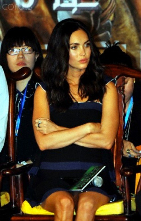 Megan Fox  glams it up  for Teenage Mutant  Ninja Turtles debut  in Beijing.