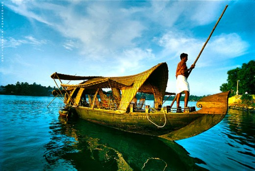 Kerala, a state on India's tropical Malabar Coast, has nearly 600km of Arabian Sea shoreline.