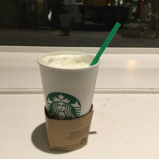 A White Hot Chocolate at the Union Square Starbucks hosted by Nikko Hotel