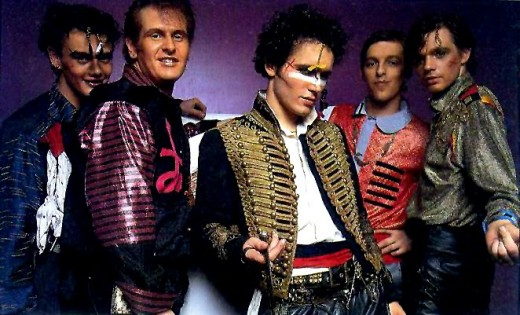 Adam and the Ants:  Another band that drew inspiration from the fop as to how men were perceived.