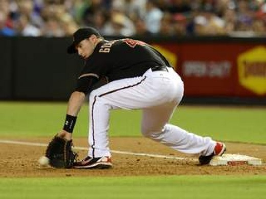 Paul Goldschmidt is a Gold Glove first baseman.