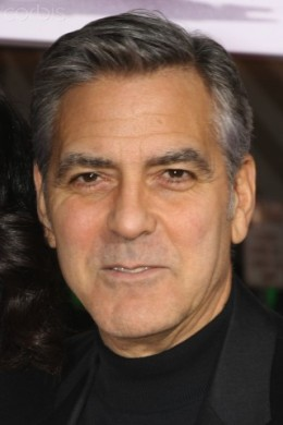 George Clooney  mug shot.