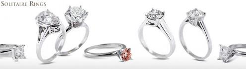 Solitaire diamond settings