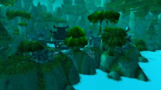 The main base of Cenarion Circle, located in Moonglade, Kalimdor.