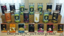 Group of candles from a JewelryinCandles event