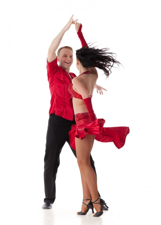 Dancing is all about having your control of yourself and your partner.