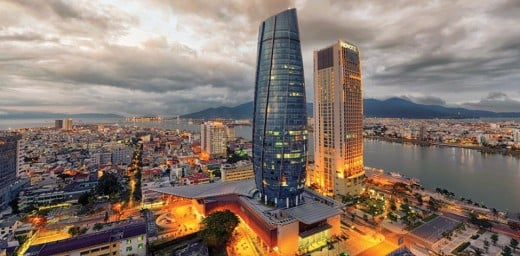 Danang, one of the five largest cities in Vietnam