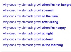 Why Does It Do That - Why Does Your Stomach Growl