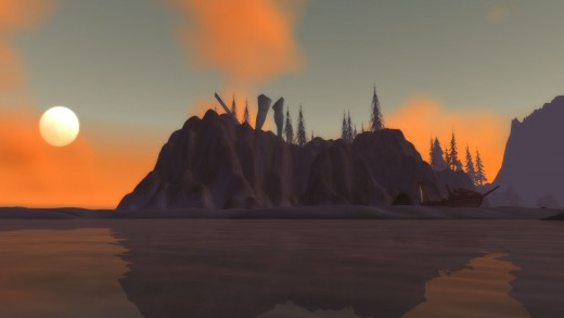 Azshara, the home of the Hydraxian Waterlords.