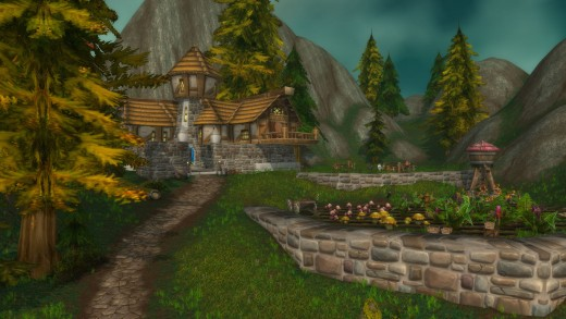 The Ravenholdt Manor in Alterac Mountains.