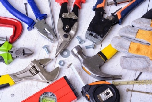 Have a good selection of tools to hand