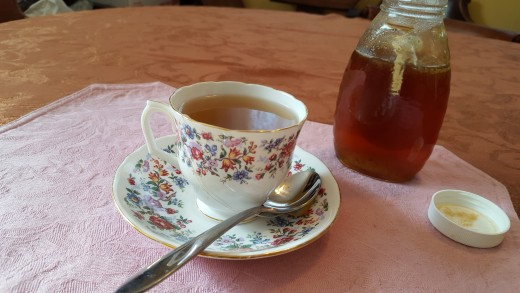 Soothing cup of tea