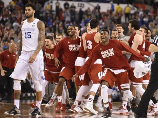 Wisconsin's amazing victory over then undefeated Kentucky