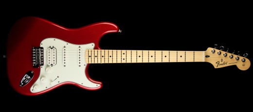 Fender standard HSS stratocaster with the humbucking pickup at the bridge. To some, this model offers the ultimate in utility.