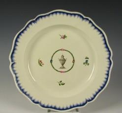 Creamware  Feather - Edge Pottery