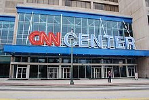 The CNN Center in Atlanta