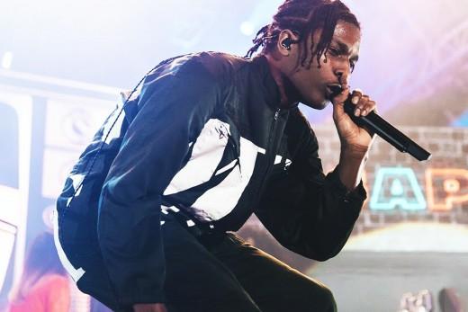 A$AP Rocky, an American rapper.