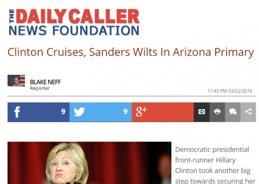 Headline After AZ Primary