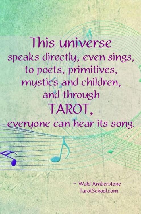 Image Care of Tarot School