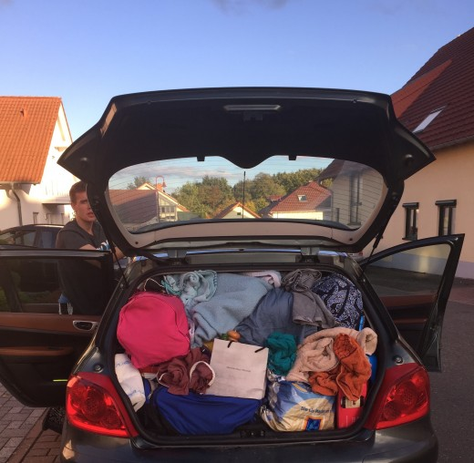 Don't pack like we did to drive to Oktoberfest!