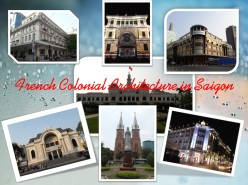 French Colonial Architecture in Saigon Vietnam