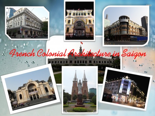 Amazingly beautiful and iconic French Colonial Architecture in Saigon