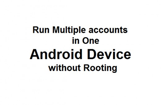 Run multiple account in one Android Device