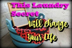 This Laundry Secret will Change Your Life