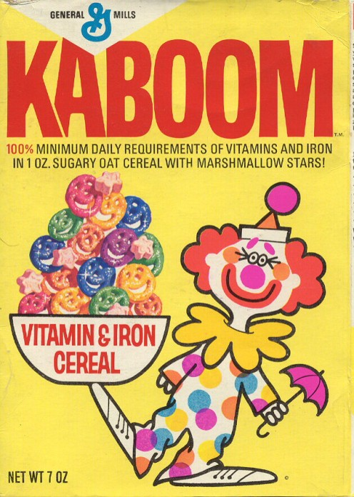 I can honestly say that I never ate this brand of cereal, but I did see ads on TV that tried to sell it.