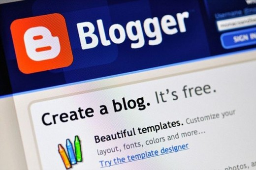 Blogging platform that is powered by Google