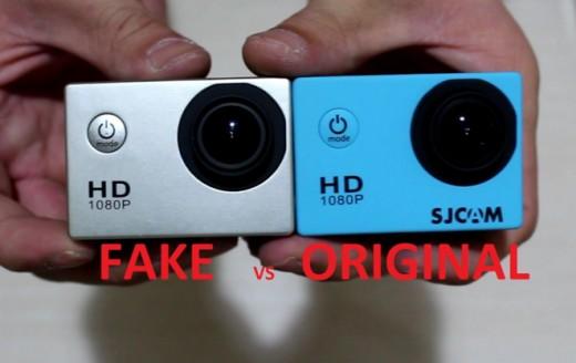 Fake vs Original Sj4000