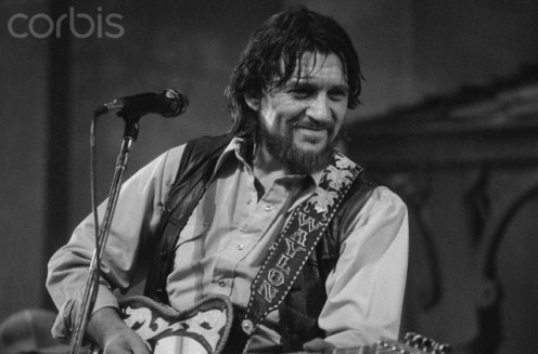 "The late Waylon Jennings, one of the founding members of the ""Outlaw Music Movement."""