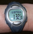wear a pedometer watch