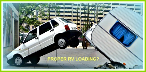 Pack and load your RV properly or face the consequences!