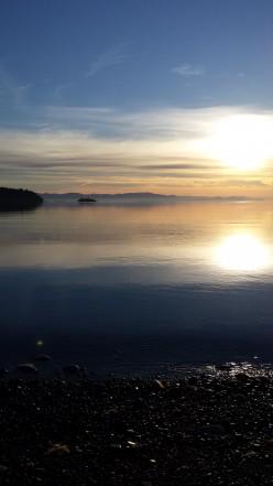 peaceful Deep Bay morning walk