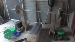 How To Make a Cheap Homemade Bench Press