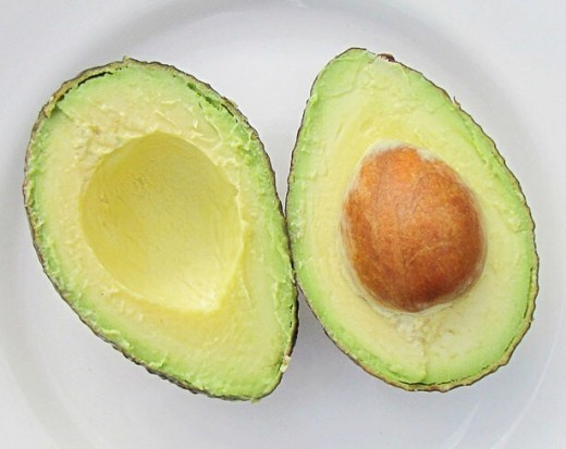 Avocado lowers LDL cholesterol and may raise HDL cholesterol. Its monounsaturated fat is healthy. Since it's high in calories, it should be eaten in moderation.
