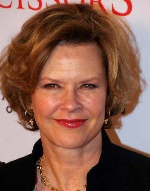 "The lovely Joe Beth Williams, co-star of ""Poltergeist,"" is known to wear red fingernails."