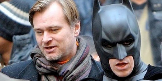 Christopher Nolan with Christian Bale as Batman