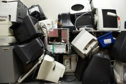 Stacking equipment too  high can cause the  equipment to fall and if  an employee is in this  space they will be hurt.