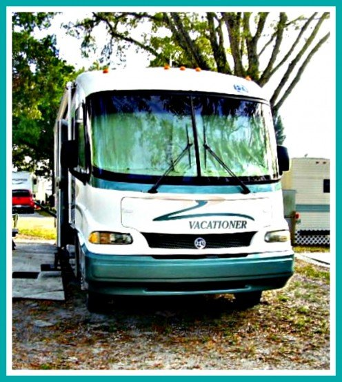 Used recreational vehicles can offer all the benefits of new ones and at great savings.  This one cost $19,500 including taxes and fees.
