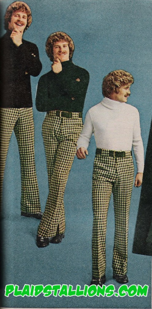 """I"" never owned a pair of these pants. ""Thank God!"""